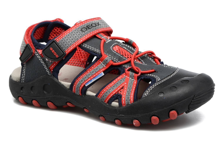 Sandales et nu-pieds Geox J Sand.Kyle C J42E1C Noir vue détail/paire