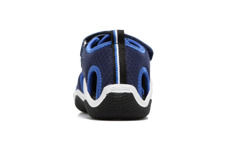 Sandales et nu-pieds Geox J Wader C - MeJ5230C Bleu vue droite