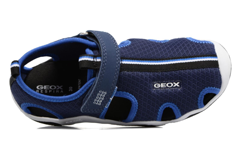 Sandales et nu-pieds Geox J Wader C - MeJ5230C Bleu vue gauche