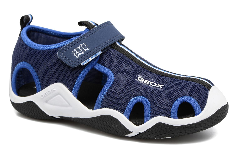 Sandales et nu-pieds Geox J Wader C - MeJ5230C Bleu vue détail/paire