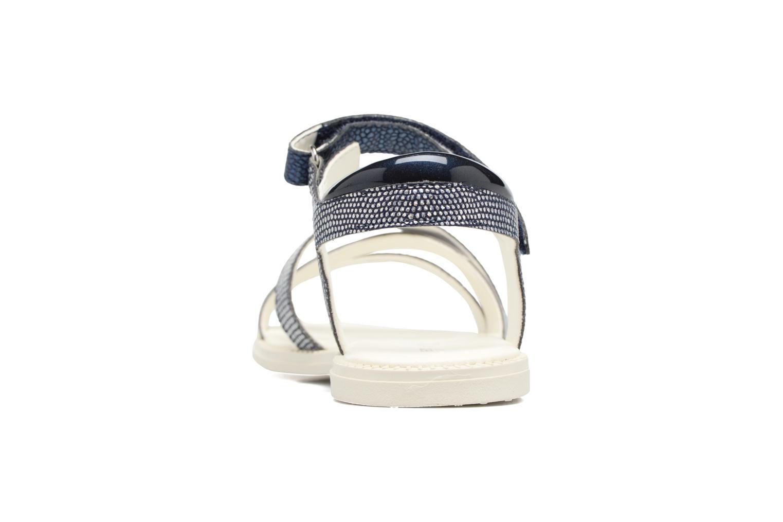 Sandales et nu-pieds Geox J S.Karly G.J5235D Bleu vue droite