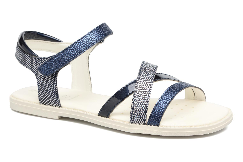 Sandales et nu-pieds Geox J S.Karly G.J5235D Bleu vue détail/paire