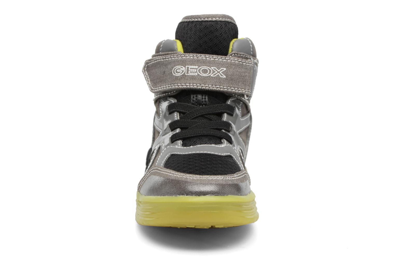 Baskets Geox J Argonat B. B J7229B Gris vue portées chaussures