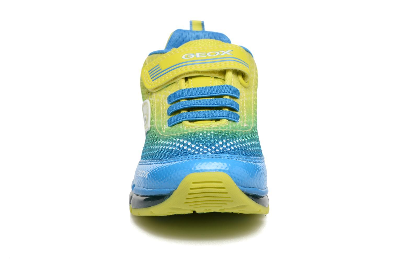 Baskets Geox J Android B. B J7244B Multicolore vue portées chaussures