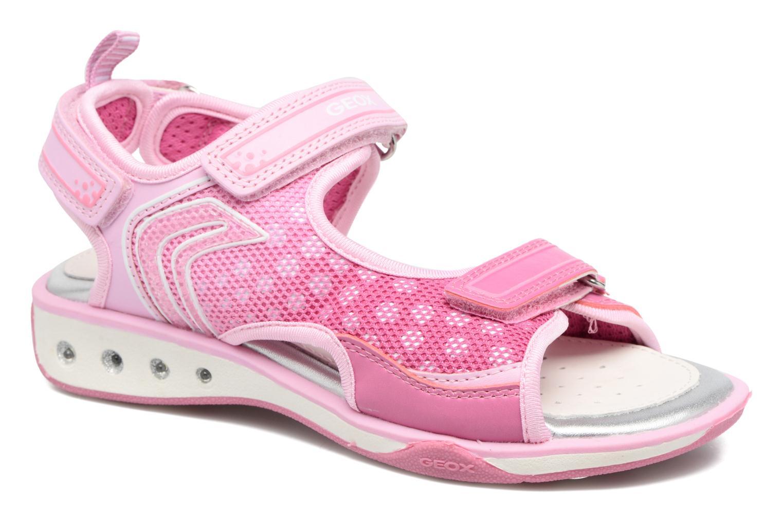 Sandales et nu-pieds Geox J S.Jocker BJ7292B Rose vue détail/paire