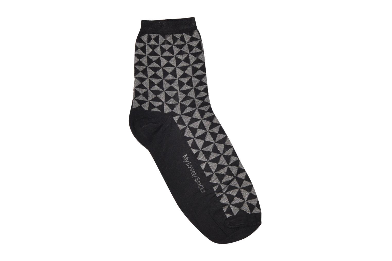 Strømper og tights My Lovely Socks Soquettes MARTHE Sort detaljeret billede af skoene