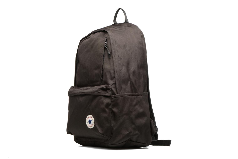 Sacs à dos Converse Poly Original Backpack L Noir vue portées chaussures