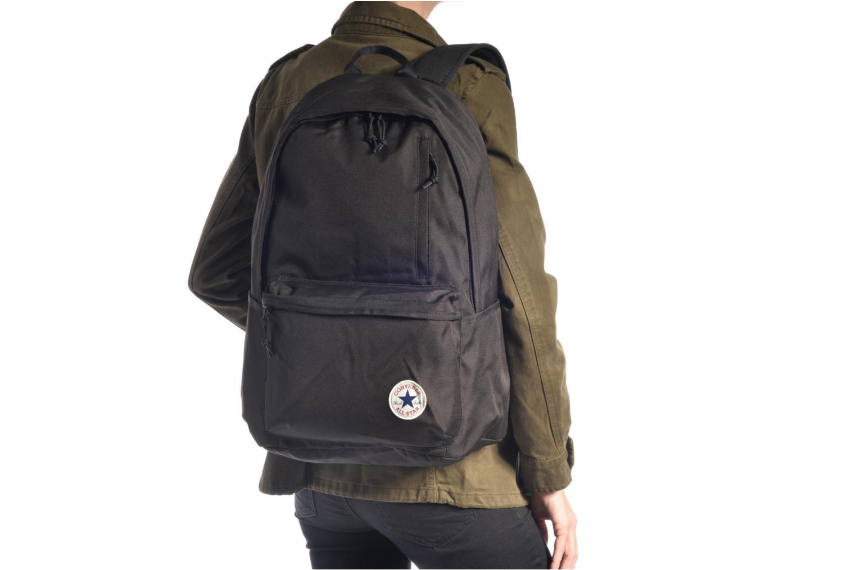 Sacs à dos Converse Poly Original Backpack L Noir vue haut