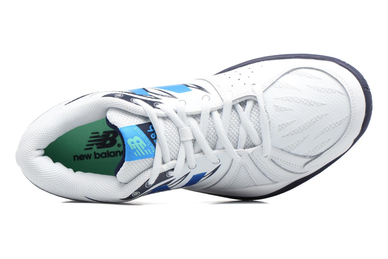 Chaussures de sport New Balance MC786 Blanc vue gauche