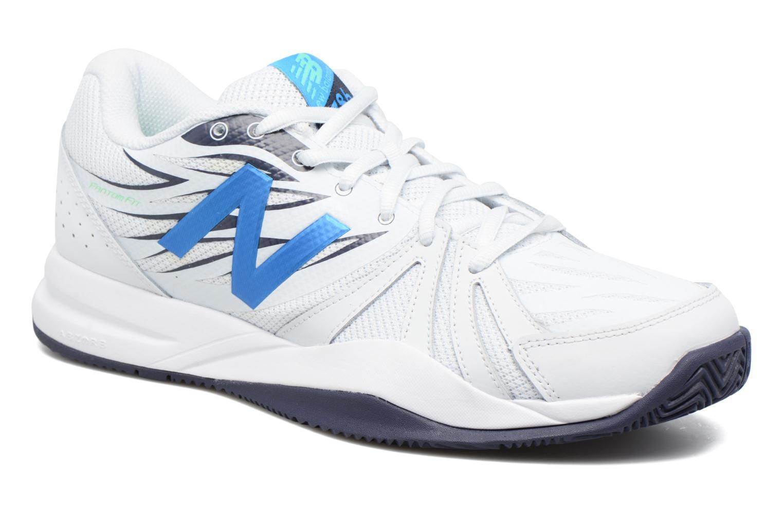 Chaussures de sport New Balance MC786 Blanc vue détail/paire