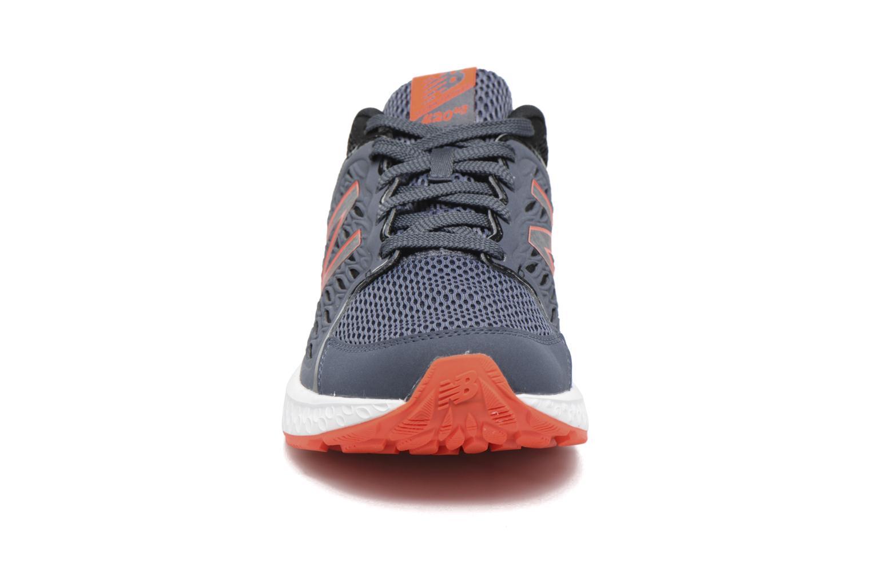 Chaussures de sport New Balance M420 Gris vue portées chaussures