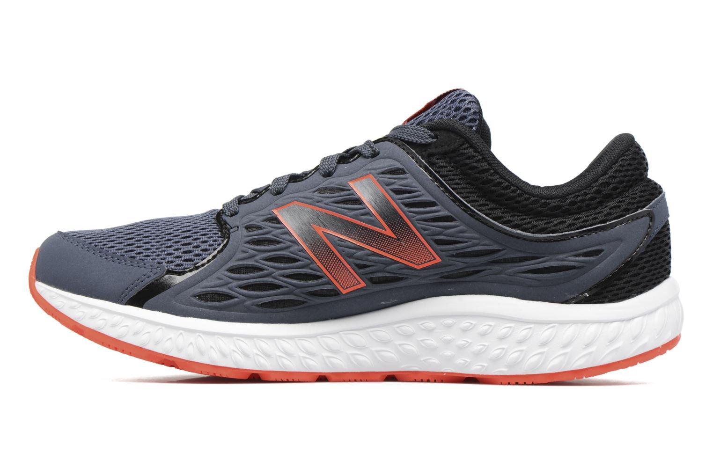 Chaussures de sport New Balance M420 Gris vue face