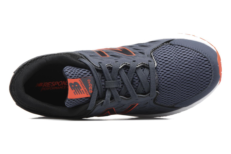 Chaussures de sport New Balance M420 Gris vue gauche