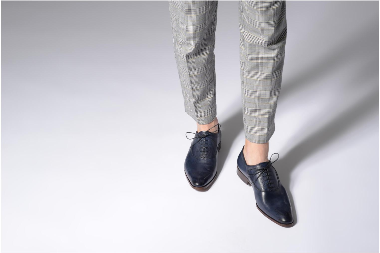 Snörade skor Marvin&Co Luxe Perfan Blå bild från under