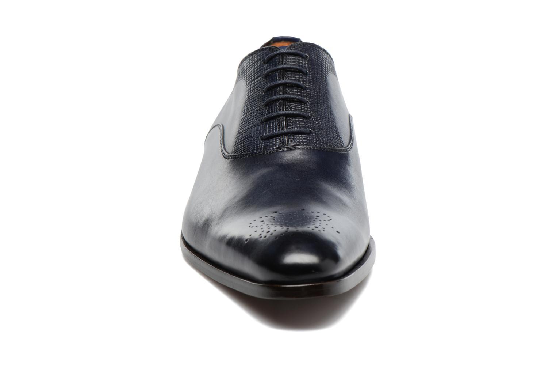 Snörade skor Marvin&Co Luxe Perfan Blå bild av skorna på