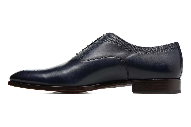 Snörade skor Marvin&Co Luxe Perfan Blå bild från framsidan