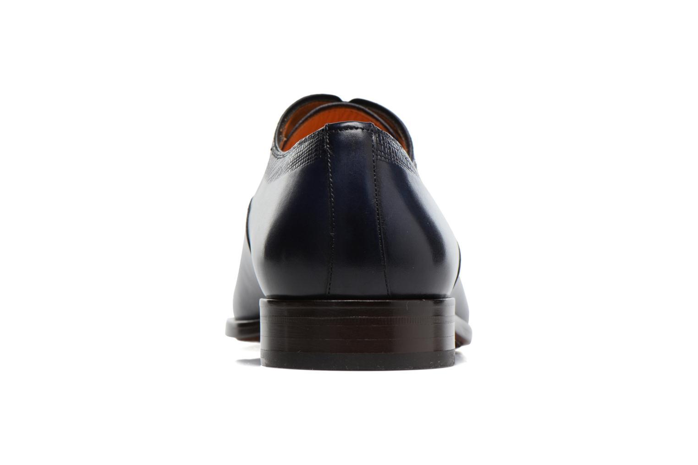 Snörade skor Marvin&Co Luxe Perfan Blå Bild från höger sidan