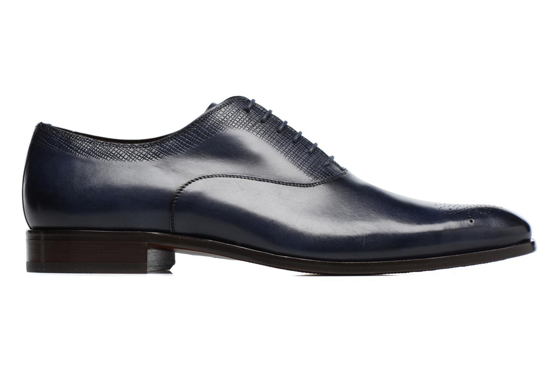 Snörade skor Marvin&Co Luxe Perfan Blå bild från baksidan