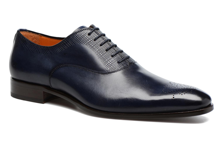 Snörade skor Marvin&Co Luxe Perfan Blå detaljerad bild på paret