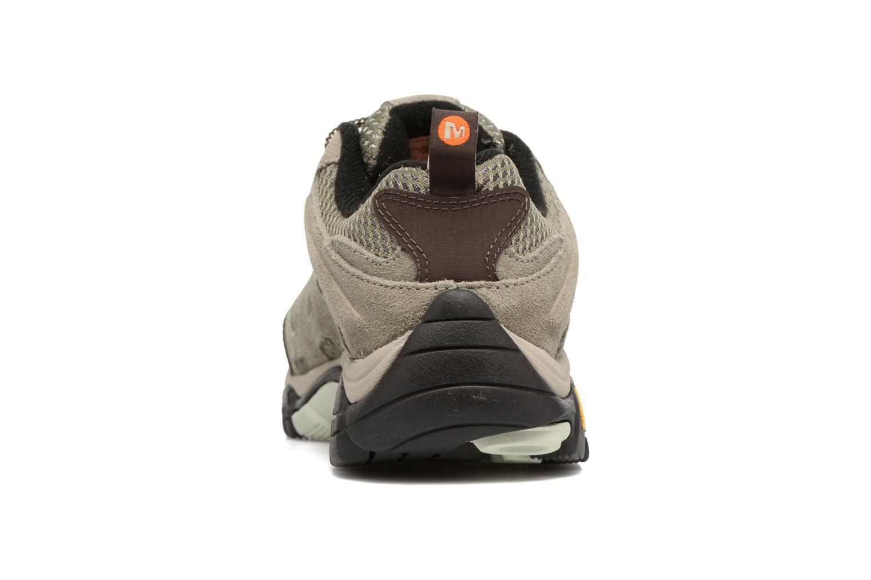 Chaussures de sport Merrell Moab Ventilator W Gris vue droite