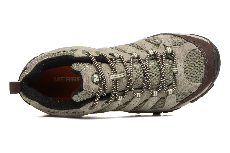 Chaussures de sport Merrell Moab Ventilator W Gris vue gauche