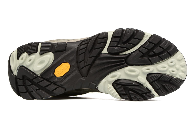 Chaussures de sport Merrell Moab Ventilator W Gris vue haut