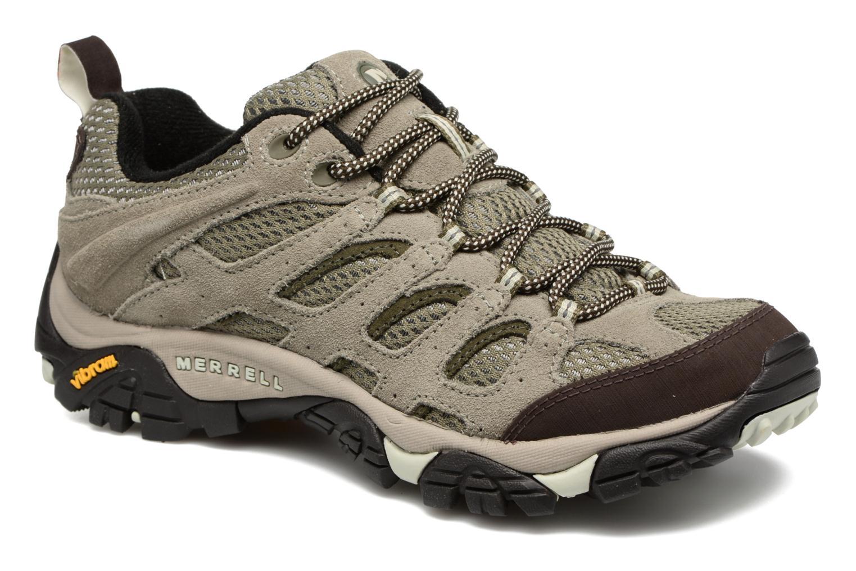 Chaussures de sport Merrell Moab Ventilator W Gris vue détail/paire