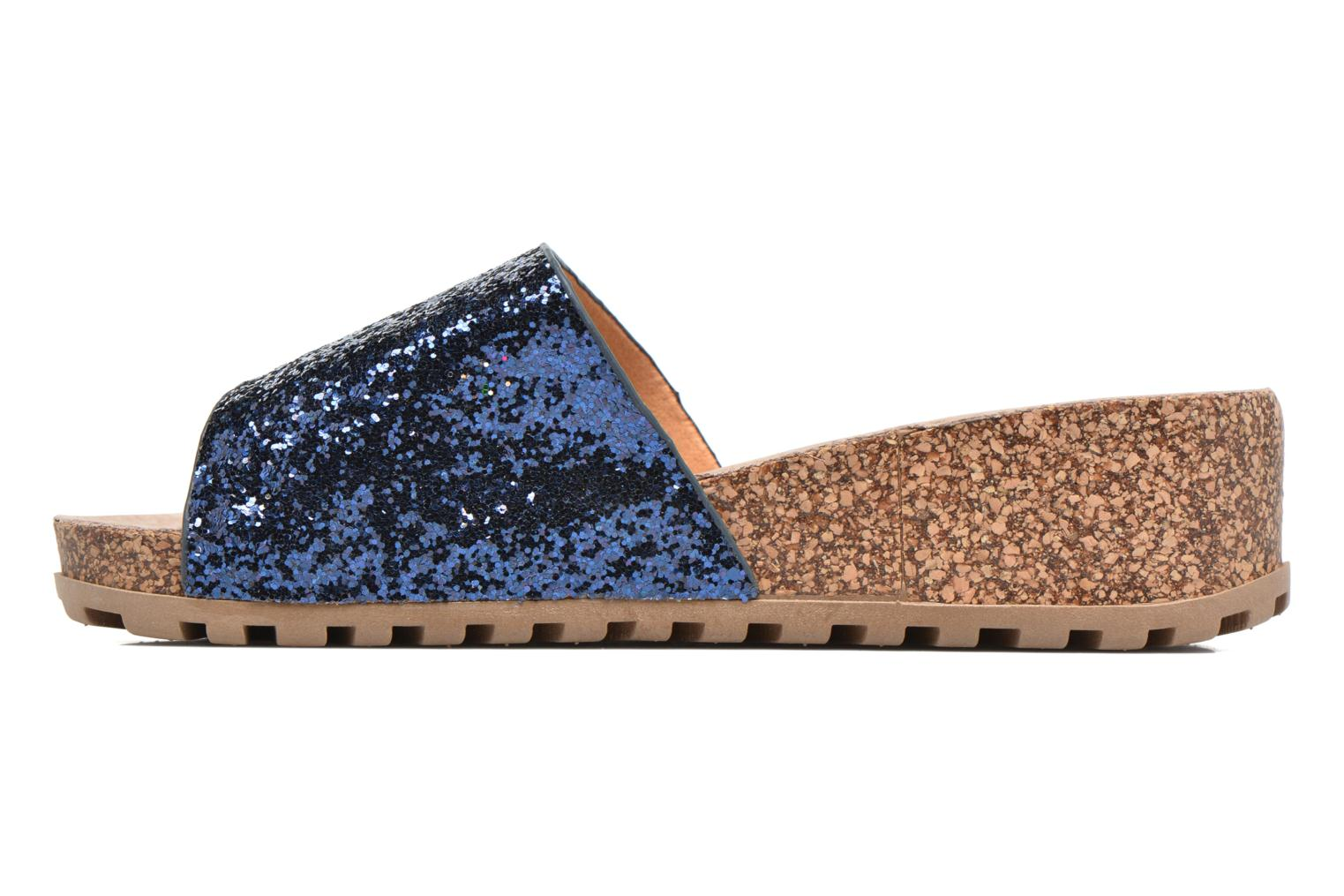 Mules & clogs Refresh Baille Blue front view