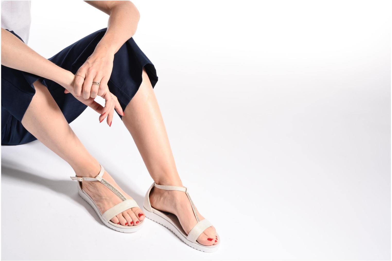 Sandales et nu-pieds Refresh Jovi Bleu vue bas / vue portée sac
