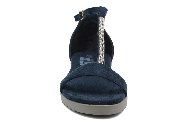 Sandales et nu-pieds Refresh Jovi Bleu vue portées chaussures