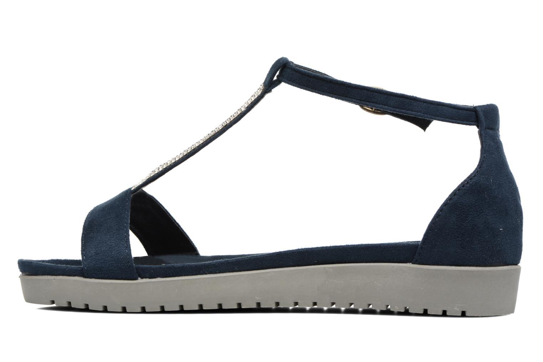 Sandales et nu-pieds Refresh Jovi Bleu vue face