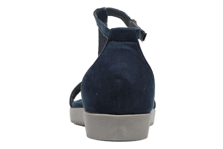 Sandales et nu-pieds Refresh Jovi Bleu vue droite