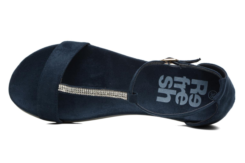 Sandales et nu-pieds Refresh Jovi Bleu vue gauche