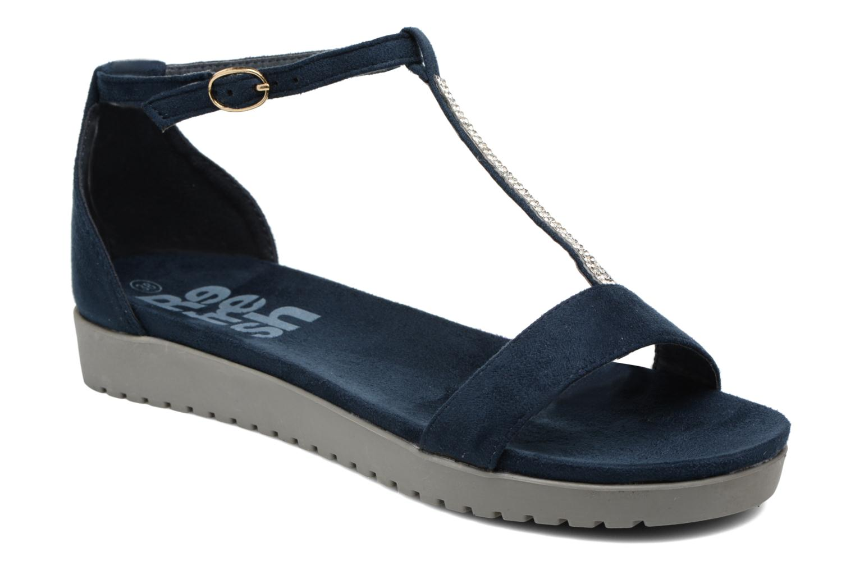 Sandales et nu-pieds Refresh Jovi Bleu vue détail/paire