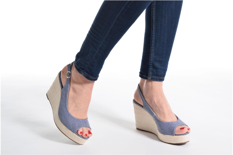 Sandales et nu-pieds Refresh Acma Beige vue bas / vue portée sac