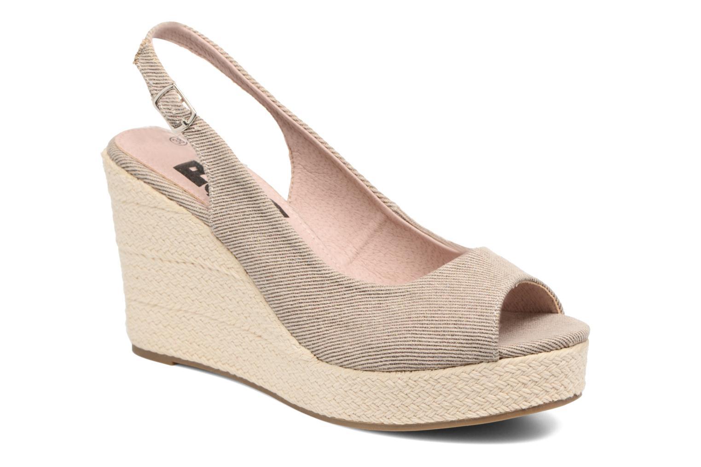 Sandales et nu-pieds Refresh Acma Beige vue détail/paire