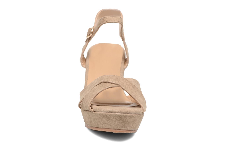 Sandales et nu-pieds Refresh Opar Marron vue portées chaussures