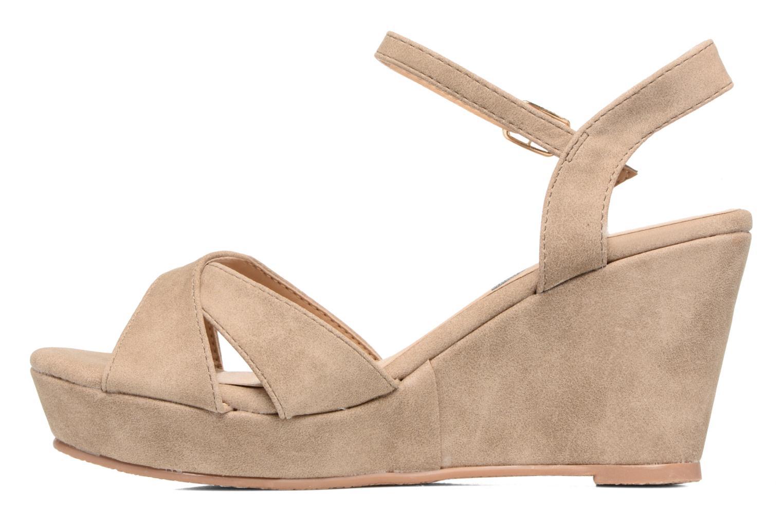 Sandales et nu-pieds Refresh Opar Marron vue face