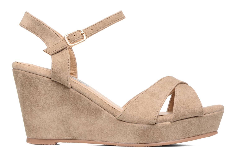 Sandales et nu-pieds Refresh Opar Marron vue derrière