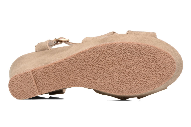 Sandales et nu-pieds Refresh Opar Marron vue haut