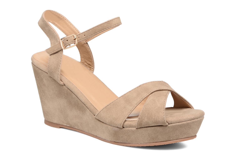 Sandales et nu-pieds Refresh Opar Marron vue détail/paire