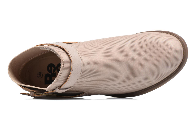Bottines et boots Refresh Jerol Beige vue gauche