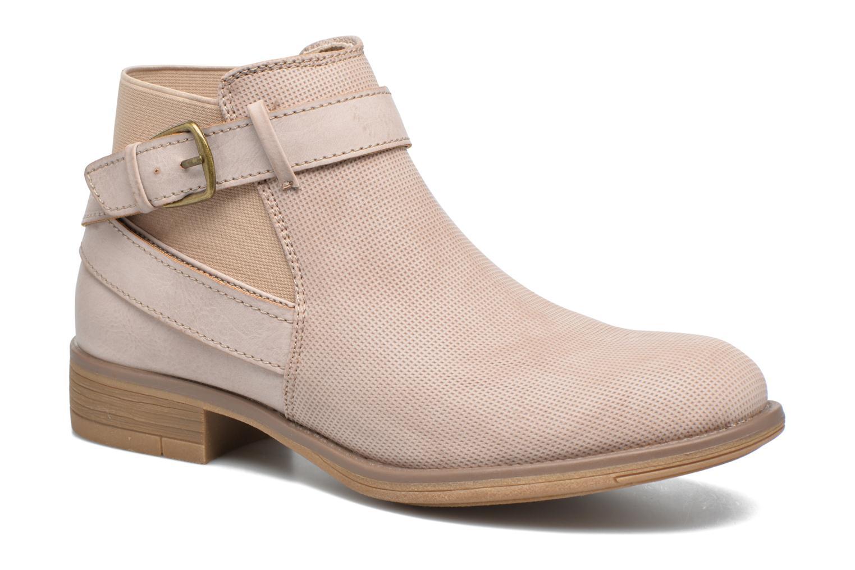Bottines et boots Refresh Jerol Beige vue détail/paire