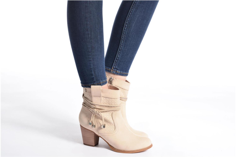 Bottines et boots Refresh Sapir Beige vue bas / vue portée sac