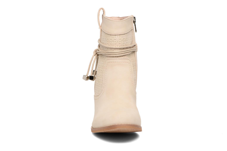Bottines et boots Refresh Sapir Beige vue portées chaussures