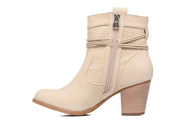 Bottines et boots Refresh Sapir Beige vue face