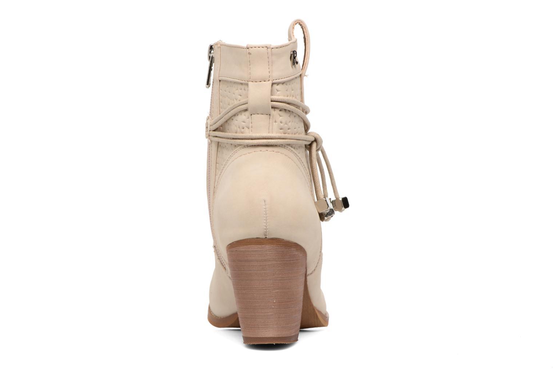 Bottines et boots Refresh Sapir Beige vue droite