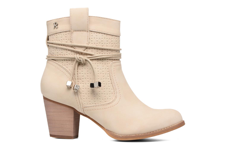 Bottines et boots Refresh Sapir Beige vue derrière