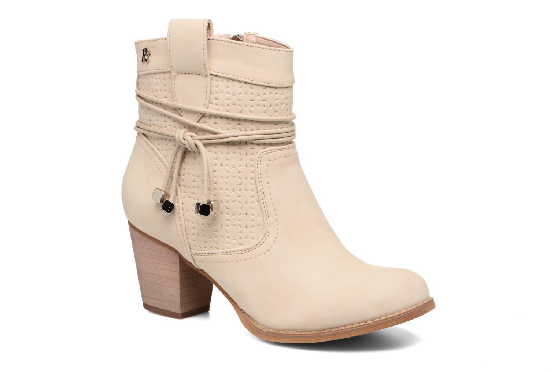 Bottines et boots Refresh Sapir Beige vue détail/paire