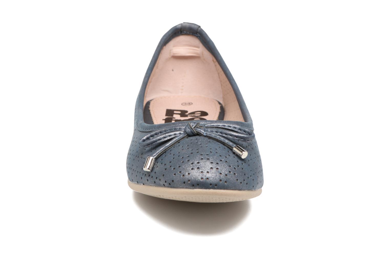 Ballerines Refresh Ilvis Gris vue portées chaussures
